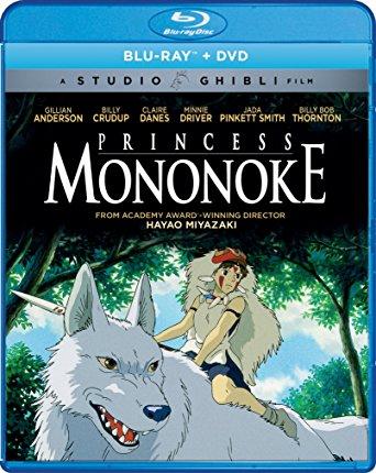 もののけ姫北米版ブルーレイ+DVDセット Blu-ray