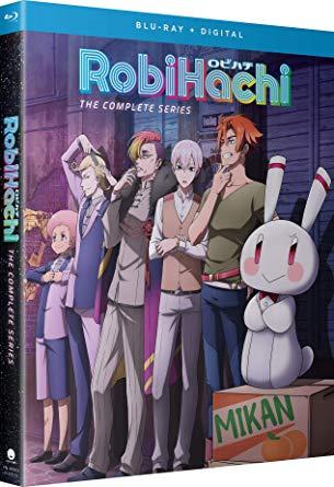 RobiHachi ロビハチ 全12話BOXセット ブルーレイ【Blu-ray】画像