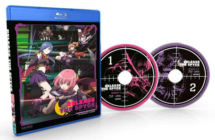 RELEASE THE SPYCE リリース ザ スパイス 全12話BOXセット ブルーレイ【Blu-ray】