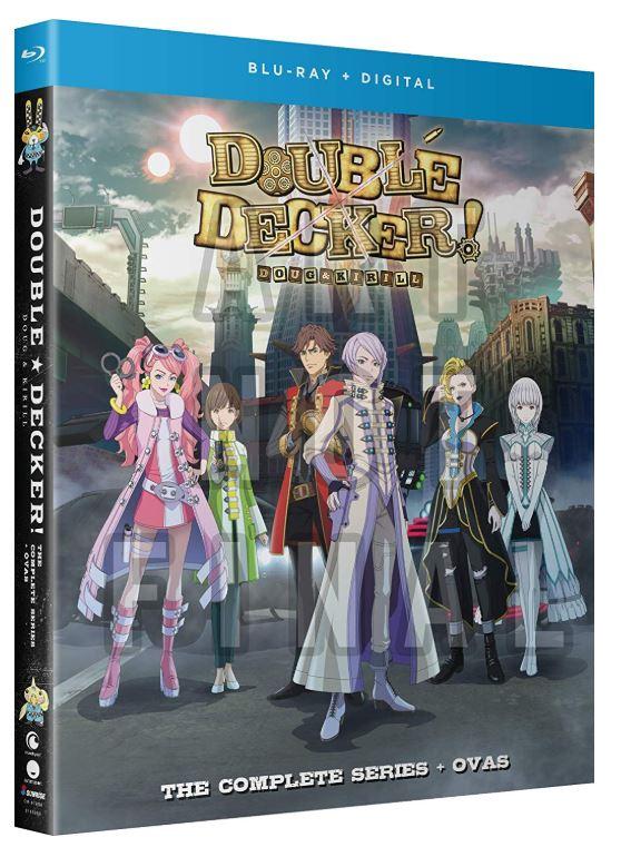 DOUBLE DECKER! ダグ&キリル 全13話+OVA3話BOXセット ブルーレイ【Blu-ray】画像