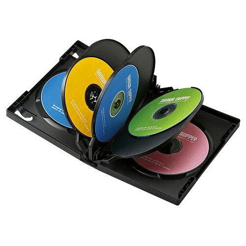 記録用メディアケース, CD・DVDケース  DVD(8) DVD-TW8-01BK