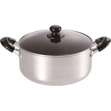 ささら IH対応大型料理鍋 24cm SM-8817(1コ入)
