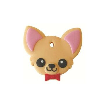 フィールドポイント ペットキーカバー 犬 チワワ レッド(1コ入)