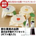 【送料無料】果実のお酢お手軽ギフトセット(ギフト箱入り)