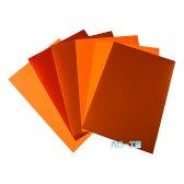 <3M> ラップフィルム1080シリーズ 橙系6枚セット 当店規格品297mm×210mm (A4サイズ)【カラー別】