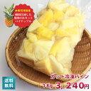 【送料無料】一口サイズの冷凍 パイナップル パイン(1kg)