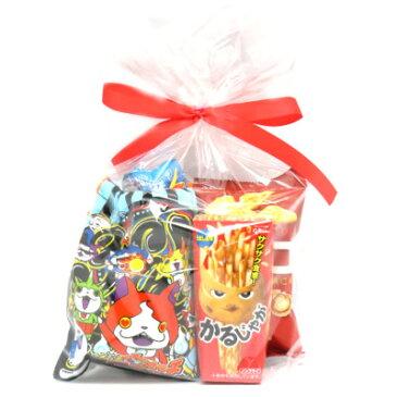 妖怪ウォッチ巾着&5種類お菓子セット (omtmaywnksb)