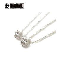 DAgDARTダグダート[Glass]サークル型ペアペンダントペアネックレスシルバーDT-390-391