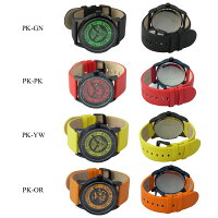 【アウトレット処分特価!】【お一人様各色1点限り】EdHardyWatchエドハーディーウォッチ腕時計メンズPUNKEDシリーズPK-GNPK-PKPK-YWPK-OR【RCP】02P12Oct15