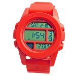 NIXONニクソンメンズ腕時計THEUNITユニットレッドペッパーデジタルウォッチメンズウォッチ男性用A197383A197-383【RCP】02P12Oct15