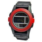 NIXON ニクソン メンズ腕時計 BAJA バハ ブラック×レッド A489-760 A489760 メンズウォッチ 男性用 【RCP】 02P12Oct15