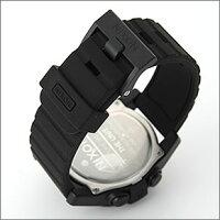 NIXONニクソンメンズ腕時計THEUNITユニットオールブラックデジタルメンズウォッチ男性用A197-000