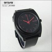 NIXON ニクソン メンズ腕時計 レディース腕時計 THE TIME TELLER P タイムテラー ブラック×ピンク メンズウォッチ A119-480 A119480【RCP】 02P12Oct15U