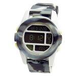 NIXONニクソンメンズ腕時計THEUNITユニットマーブルブラックスモークデジタルウォッチメンズウォッチ男性用A1971611A197-161102P01Jun14