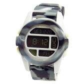 NIXON ニクソン メンズ腕時計 THE UNIT ユニット マーブルブラックスモーク デジタルウォッチ メンズウォッチ 男性用 A1971611 A197-1611 【RCP】 02P12Oct15