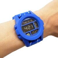 NIXONニクソン腕時計メンズユニセックスTHEUNITユニットブルーコバルトスペックルデジタルメンズウォッチ男性用A197-2303A1972303