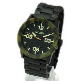 NIXON ニクソン メンズ腕時計 THE PRIVATE SS プライベート マットブラック×カモ メンズウォッチ 男性用 A2761428 A276-1428 【RCP】 02P12Oct15