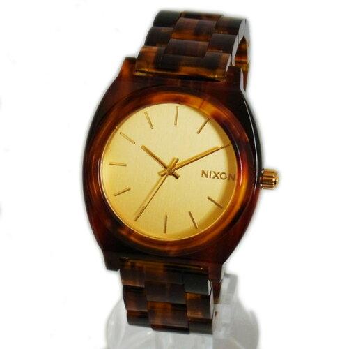 NIXON ニクソン メンズ腕時計 レディース腕時計 THE TIME TELLER タイムテラー アセテート ゴール...