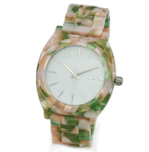 NIXON ニクソン メンズ腕時計 レディース腕時計 THE TIME TELLER タイムテラー アセテート ミント...