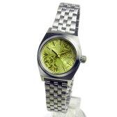 NIXON ニクソン レディース腕時計 Small Time Teller スモールタイムテラー シルバー/ネオンイエロー レディースウォッチ 女性用 A3991898 A399-1898 【RCP】 02P12Oct15