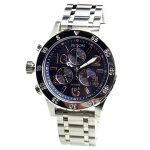 NIXONニクソン腕時計レディースユニセックス38-20クロノグラフネイビー/ローズゴールド女性用A404-2195A4042195【RCP】