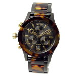 NIXONニクソン腕時計ユニセックス38-20クロノグラフオールブラック/トートイズA404679A404-679