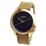 NIXONニクソン腕時計メンズユニセックスRANGER40LEATHERレンジャー40レザーローズゴールド/ブラウンA471-1890A4711890【RCP】