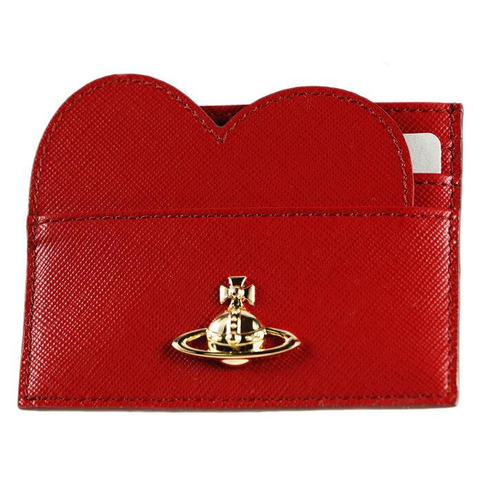 ヴィヴィアンウエストウッド カードケース Vivienne Westwood レッド 51120006-40187-H401