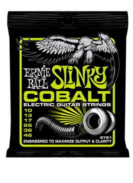 *【定形外郵便・代引不可】【ERNIE BALL(アーニーボール) エレキギター弦】 Cobalt Regular Slinky #2721