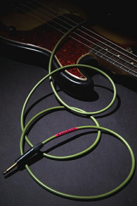 ケーブル, シールドケーブル (KAMINARI GUITARS)Electric Bass Cable 5m SS K-BC5SS