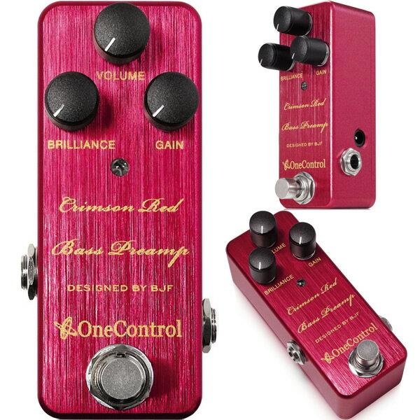 ベース用アクセサリー・パーツ, エフェクター One Control() Crimson Red Bass Preamp