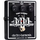 【electro-harmonix】Micro Metal Muff(マイクロメタルマフ) ディストーション with Top Boost