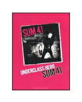 ○【楽譜】【洋楽バンドスコア】【宅配便発送】SUM 41/アンダークラス・ヒーロー