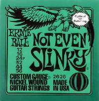 *【ネコポス便発送、代引き不可】【ERNIE BALL(アーニーボール) エレキギター弦 】Not Even Slinky #2626