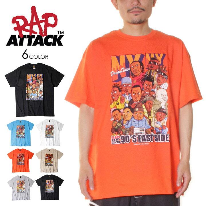トップス, Tシャツ・カットソー T RAP ATTACK NYNY SS TEE M L XL 2021 The Notorious B.I.G , KRS ONE , MOBB DEEP , FAT JOE , NAS , JAY-Z , BIG L , Ol Dirty Bastard , PETE ROCK evi