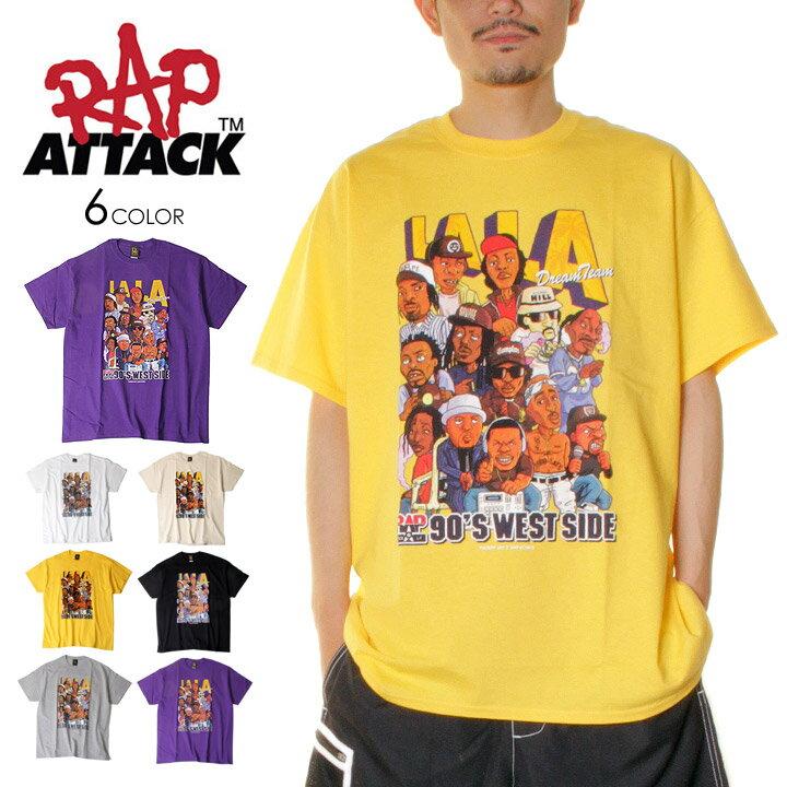 トップス, Tシャツ・カットソー T RAP ATTACK LALA SS TEE M L XL 2021 DR DRE , NATE DOGG , 2PAC , ICE CUBE , EAZY-E , SNOOP DOGG , Cypress Hill , B-REAL , DJ QUIK , MC Eiht evi