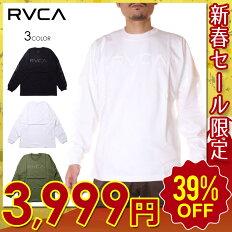 RVCAルーカTシャツロンTメンズBIGPIXELLS2020秋冬ブラック/グリーン/ホワイトS/M/L【evi】