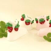 【国内送料無料】かわいいイチゴさん!(3Dいちごソックス)3Dsocks【smtb-TD】【saitama】