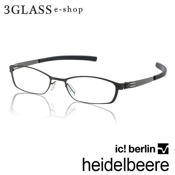 眼鏡・サングラス, 眼鏡 ic! berlin heidelbeeregunmetal()ic!berl in heidelbeere gunmetal 49mm