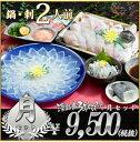 (冷凍) 月セット ふぐ鍋 ふぐ刺身 セット(2人前) 淡路島3年とらふぐ 若男水産