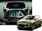 【PAC JAPAN | FDKUGA2+HSWset】13y〜 FORD NEW KUGA 2DIN取付キット(ハザードロックSW付き)