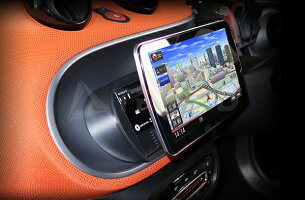 【SM-F1D-CAN】2015y~SMART/スマート専用F1Dナビ取付キット(ABS成型品)