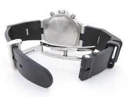 【中古】ABランクBVLGARIブルガリディアゴノプロフェッショナルエアメンズ腕時計GMT40C5SVDSS×ラバーシルバー文字盤【本物保証】