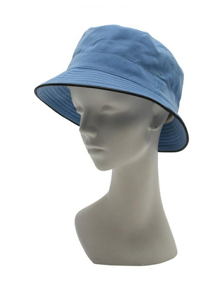 【新品未使用展示品】HERMES エルメス ハット 帽子 水色 メーカーサイズ57 ポリエステル ナイロン レディース【本物保証】【中古】