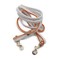 COACHコーチ2wayミニバッグショルダーバッグレザーホワイトオレンジ51612レディースバッグ【本物保証】【中古】
