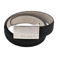 BVLGARIブルガリベルトミレリゲPVCブラックサイズ110メンズアパレル小物【本物保証】【中古】