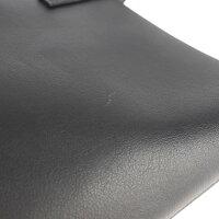 超美品 SAINT LAURENT サンローラン トートバッグ 600281 レザー ブラック【本物保証】【中古】