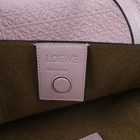 超美品 LOEWE ロエベ アナグラム Tショッパー トートバッグ レザー ピンク【本物保証】【中古】