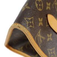 LOUIS VUITTON ルイ ヴィトン ポパンクール  モノグラム ハンドバッグ M40007 PVC レザー ブラウン【本物保証】【中古】