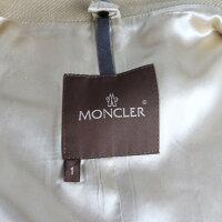 超美品 MONCLER モンクレール ピーコート 49313-80 ウール キャメル 表記サイズ 1【本物保証】【中古】